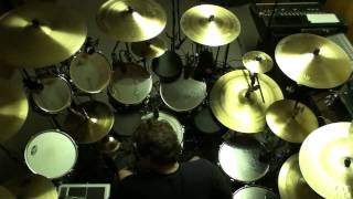 "Drumming along to ""Cygnus X-1"" by Rush (top view3)"