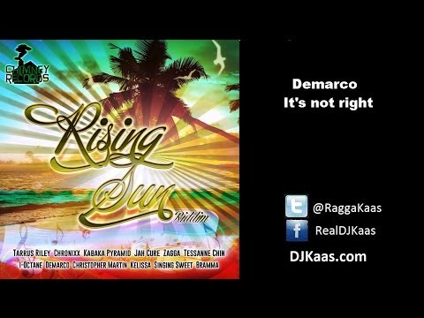Demarco - It's not right (October 2013) Rising Sun Riddim | Chimney Records | Reggae