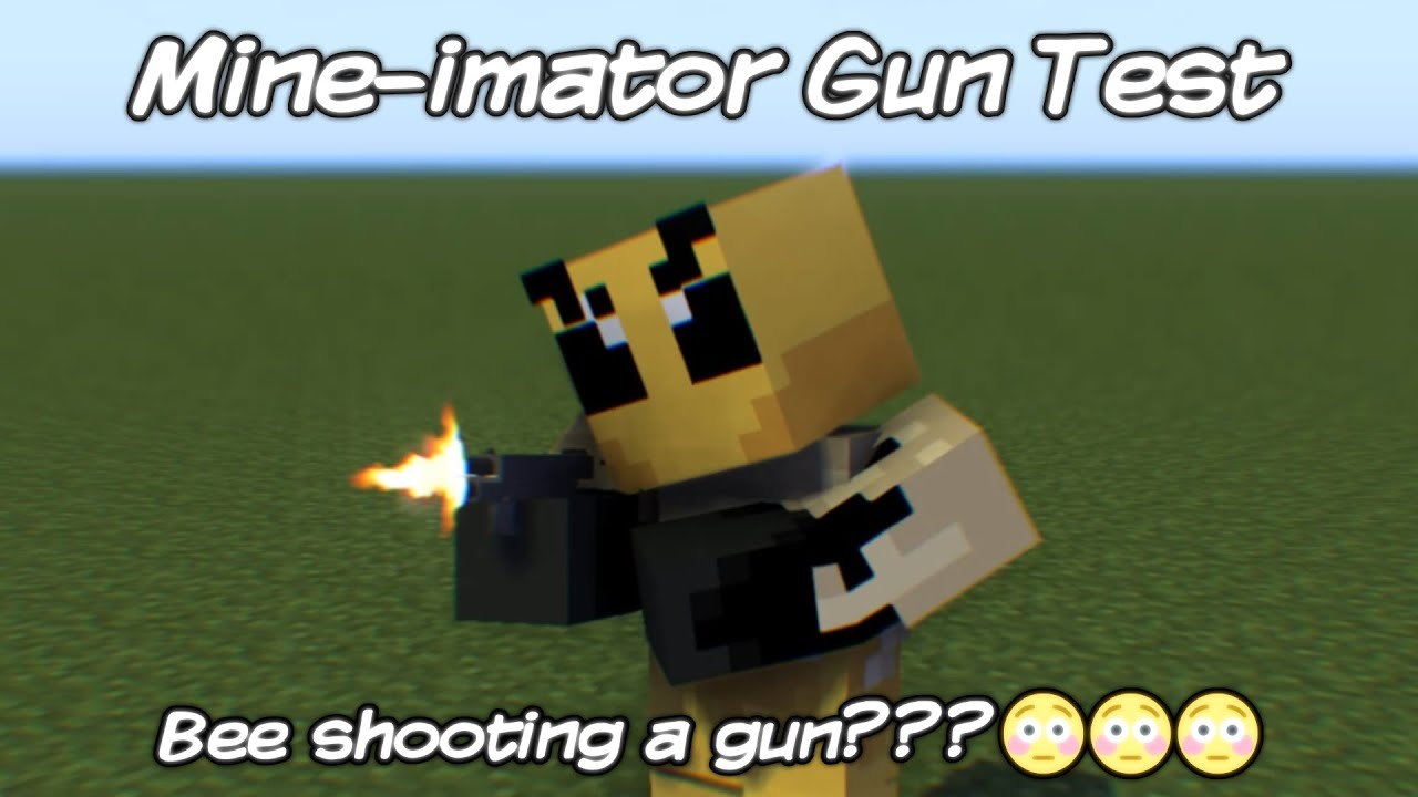 Mine-imator Gun Test   Mine-imator Animation