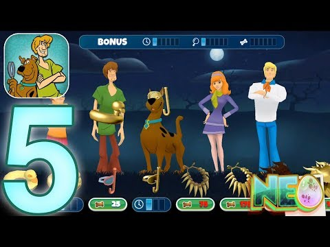Scooby-Doo Mystery Cases: Gameplay Walkthrough Part 5 - Attack Of The Ghost (iOS, Android)