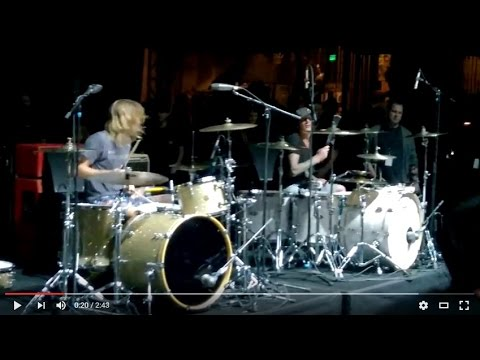 All-Star Drummers Pre-Show Jam - April 29, 2016 Shrine/Los Angeles