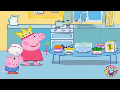 Peppa Pig Making Food For The Ducks ☀ Peppa Pig Golden Boots Gameplay ☀ Best IPad Apps For Kids