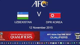 Uzbekistan vs North Korea full match
