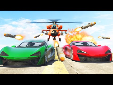 1,000,000 MISSILES vs. FAST SUPERCARS!...
