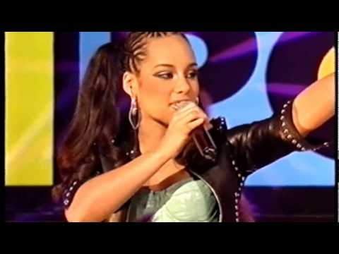 Alicia Keys  Girlfriend  TOTP 2002