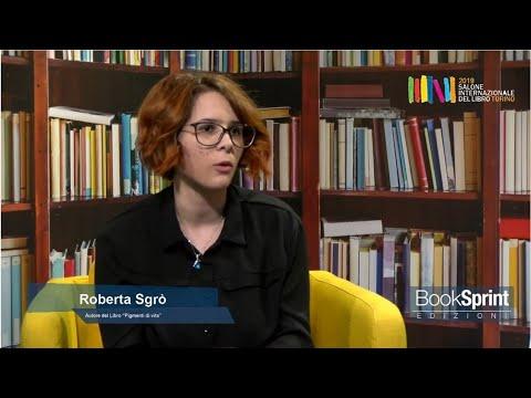 Roberta Sgrò Dal Salone Internazionale Del Libro Di Torino 2019 - BookSprint Edizioni
