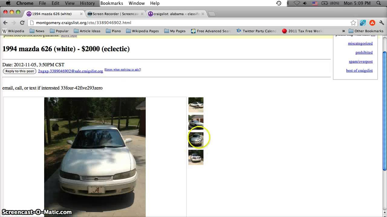 Craigslist Montgomery Alabama Used Cars For Sale By Owner