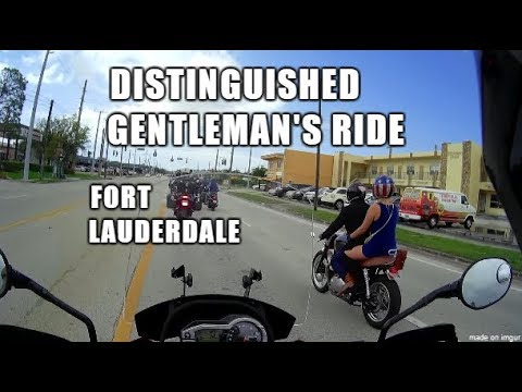 Distinguished Gentleman's Ride: Fort Lauderdale