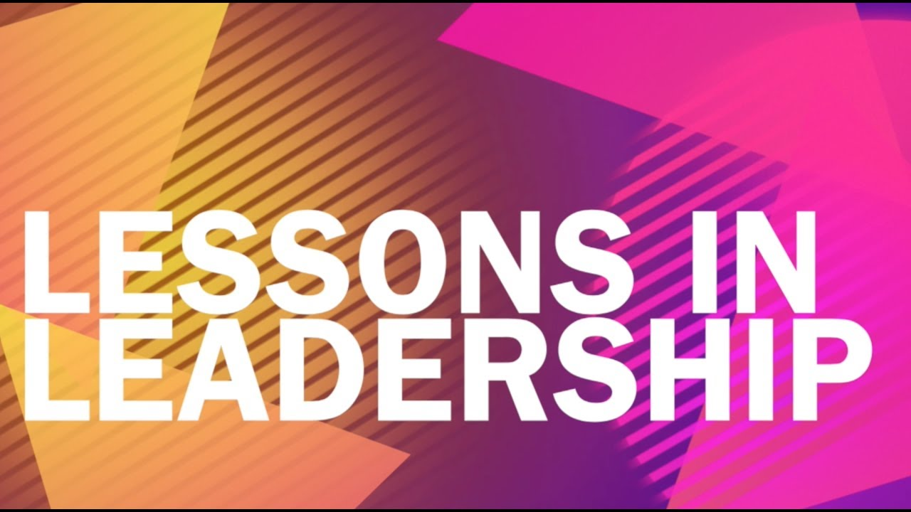 Lessons in Leadership - Responses for the Harvard Business School's Executive Education Programme