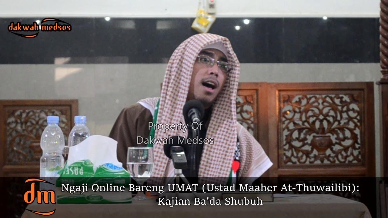 Ditanya Hukum Musik Ustad Maaher At Thuwailibi Malah Melantunkan Nasyid Youtube