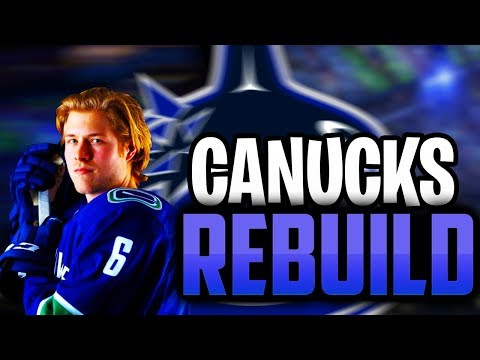 BIG THREE IN VANCOUVER! REBUILDING THE VANCOUVER CANUCKS NHL 18 FRANCHISE!