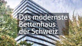 Trailer zur Eröffnung des modernsten Bettenhauses der Schweiz