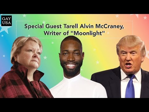 "Gay USA: Special Guest Tarell Alvin McCraney, Writer of ""Moonlight"""