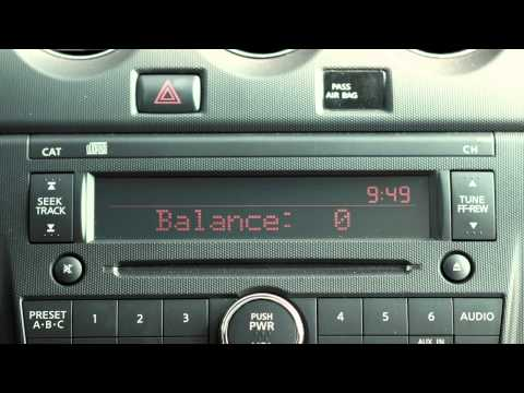 2012 NISSAN Altima - Audio Systems - YouTube