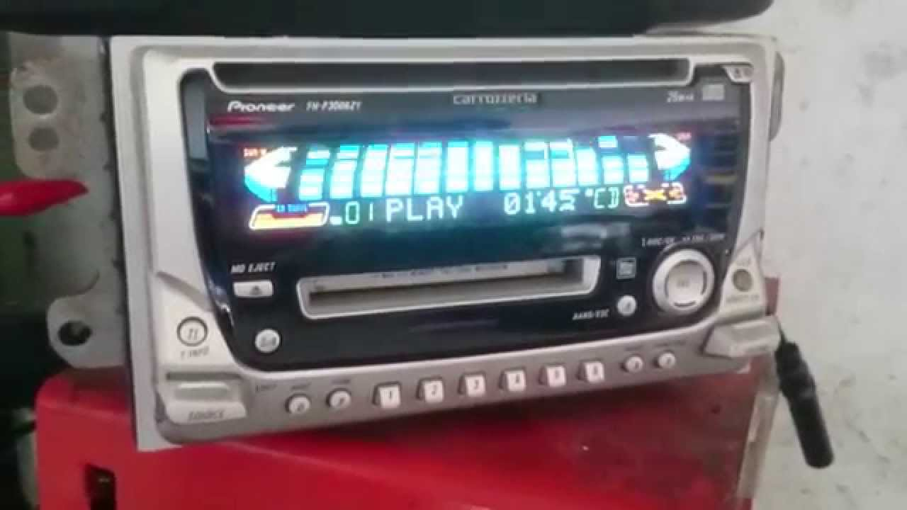 Pioneer Carrozzeria FH-P3006ZY CD MD Player - YouTube