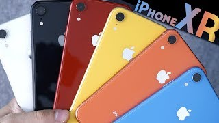 iPhone 5C - iPhone XR: All Colors In-Depth Comparison & Overview!