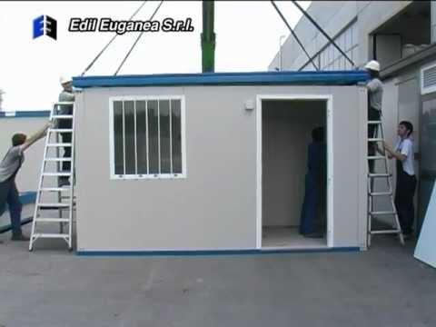 Modular Building Assembling Edil Euganea Srl Youtube