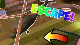 UTILIZANDO EL HELICOPTER MILITARIO DE $1,000,000 PARA ESCAPE PRISONA!!! | Jailbreak en Roblox #29