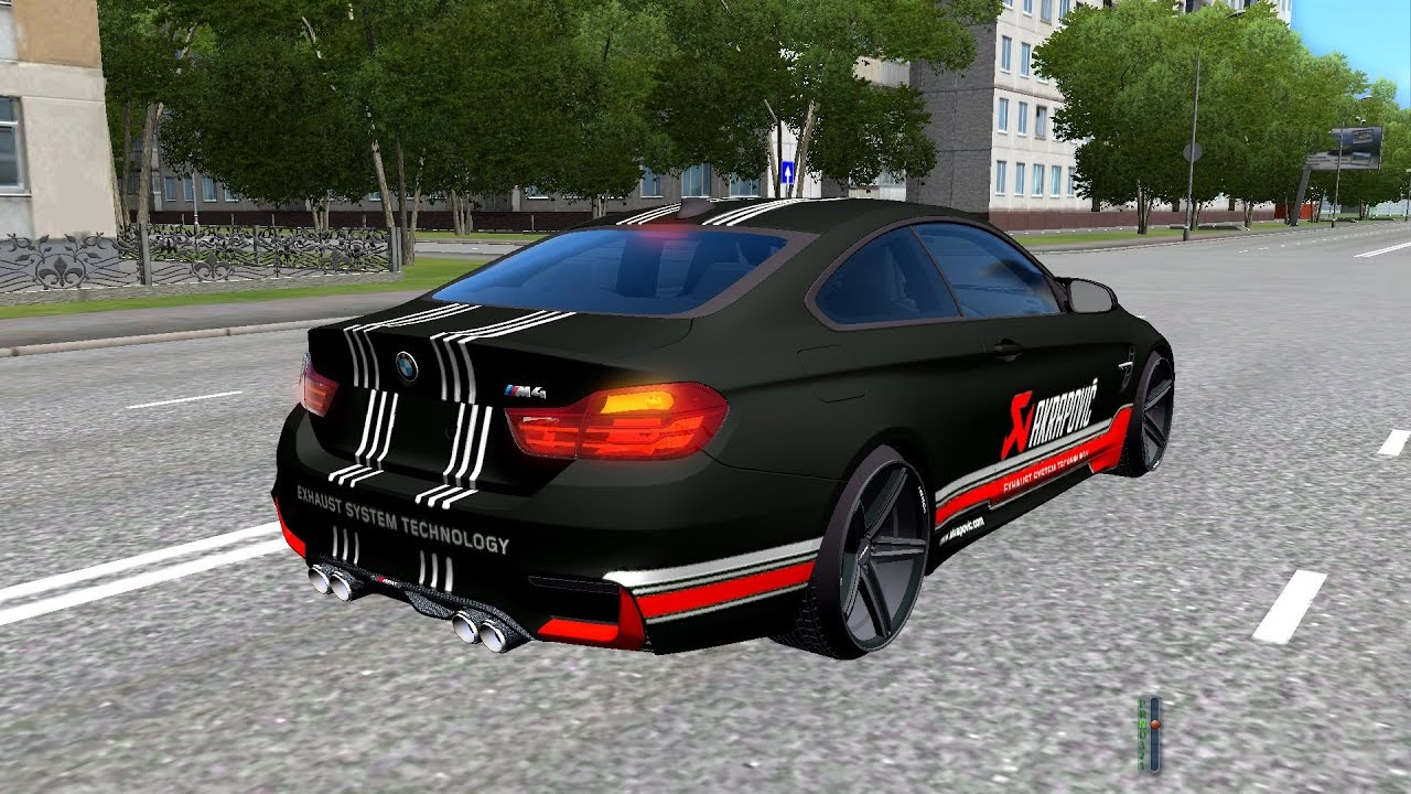 city car driving (1.4.1) - bmw m4 f82 - youtube