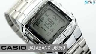 Reloj Casio Retro Vintage DB360 Plata - www.CompraFacil.mx