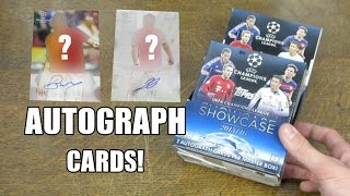 2 AUTOGRAPHS! MASTER BOX OPENING - Champions League Showcase 2015/16