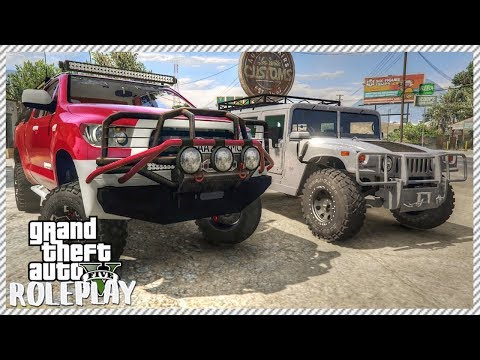 GTA 5 ROLEPLAY - Buying Cheap Junkyard Project Truck & Upgrading it | Ep. 182 Civ