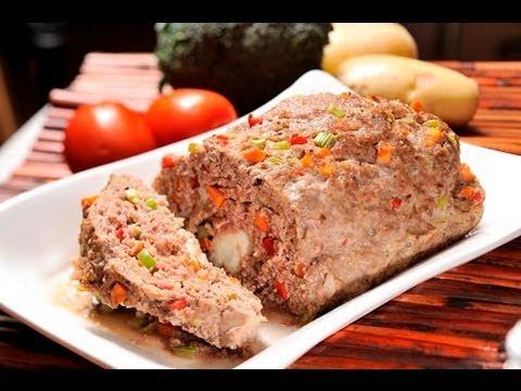 Pastel o rollo de carne - Meatloaf - ViYoutube