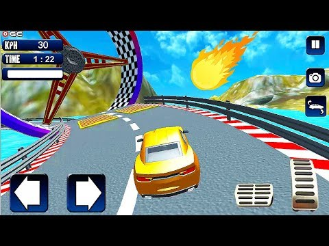 Free Car Extreme Stunts - Impossible Stunts Car Games - Android GamePlay