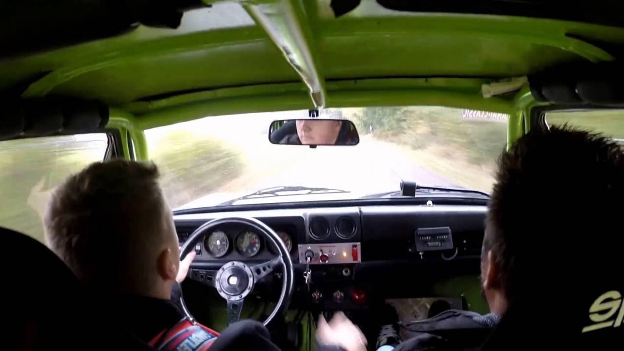 Opel Kadett B Rallye Sprint Testfahrt