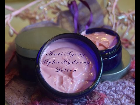 Splendida Nutrita Tutorial: Anti Aging Lotion