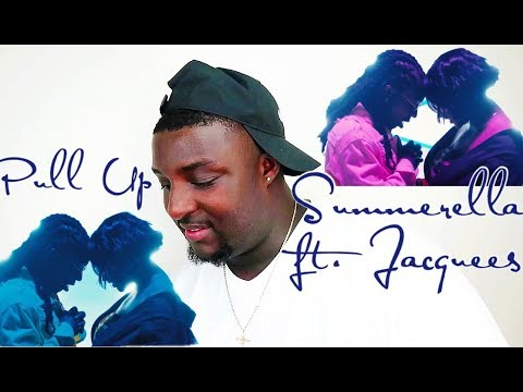 Summerella Feat. Jacquees -Pull Up (Official Music Video Reaction)