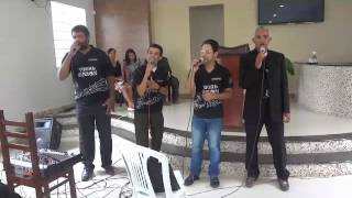 Acappella vocal union pra chegar ao la de gloria