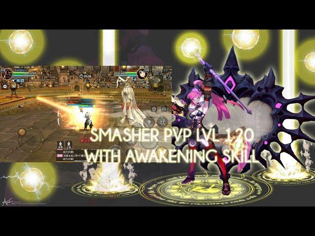 Smasher LvL 120 PvP With Awakening Skill - Dragon Nest M #AKMJ Gaming