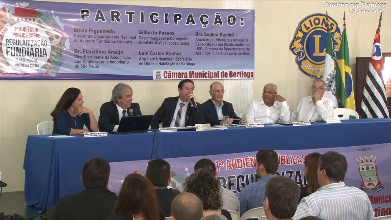 TV Câmara - Audiência Pública sobre Regularização Fundiária - 23/06/2017
