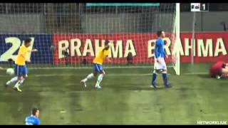 Fred Goal Brasile - Italia 2-2 Amichevole 21.03.2013