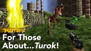 Turok: Dinosaur Hunter Is Goofier Than A Cotton Candy Sandwich
