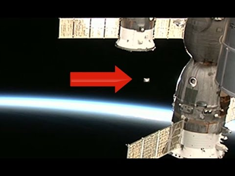 Incredible Ufo Sighting Captured By Nasa! Ufo Visits Iss