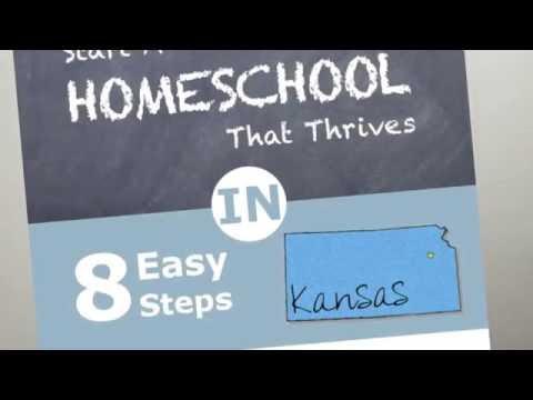Truth About Homeschooling in Kansas: Kansas Homeschool Laws