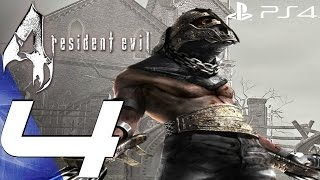 Resident Evil 4 (PS4) - Gameplay Walkthrough Part 4 - The Castle & Garrador [1080P 60FPS]