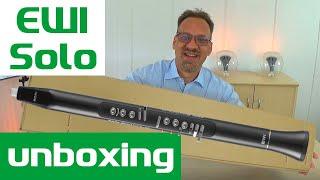 Akai EWI Solo | Unboxing Video zum EWI Solo von Akai professional