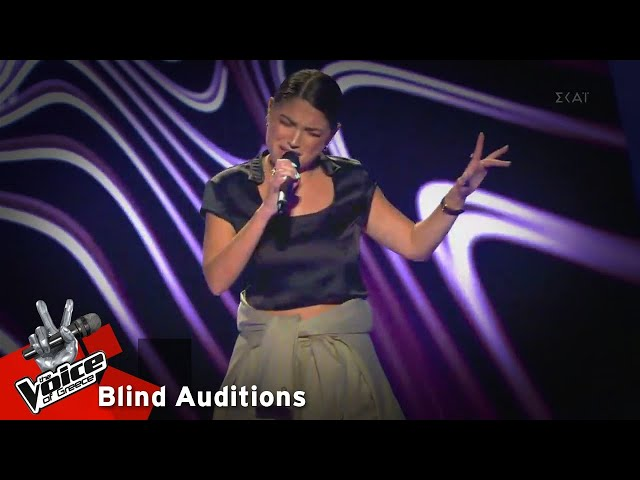 Δομινίκη Ξύδα - Confident | 4o Blind Audition | The Voice of Greece