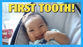 First Tooth!