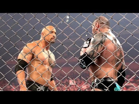 wwe 2k18 fantasy matchup - the rock vs...