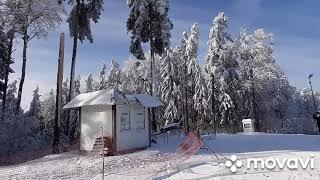 горнолыжный курорт Беларуси Силичи ski resort of Belarus