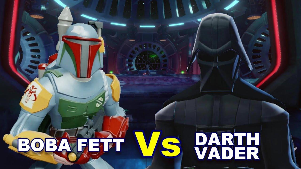 Boba Fett vs Darth Vader - YouTube
