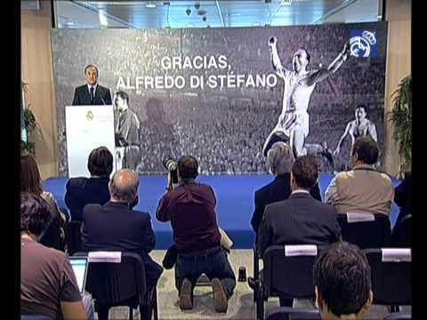 "Florentino Pérez: ""Di Stéfano es el Real Madrid"""