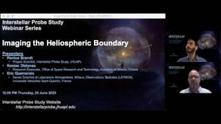 Webinar: Imaging the Heliospheric Boundary