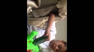 Cyssero + a nerf gun