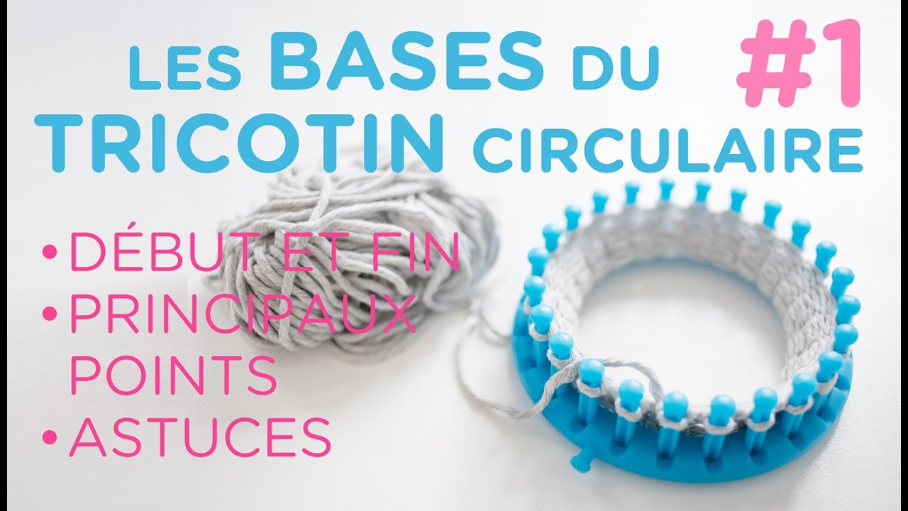 tricotin rond et long