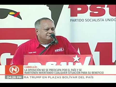 La contundente respuesta de Diosdado Cabello a periodista de Associated Press